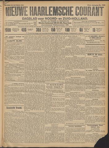 Nieuwe Haarlemsche Courant 1912-10-25