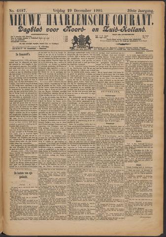 Nieuwe Haarlemsche Courant 1905-12-29