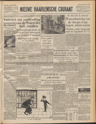 Nieuwe Haarlemsche Courant 1958-06-25