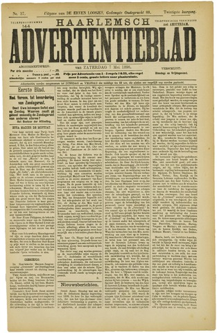 Haarlemsch Advertentieblad 1898-05-07