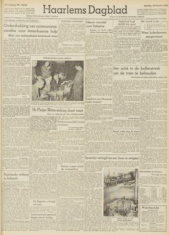 Haarlem's Dagblad 1947-10-18