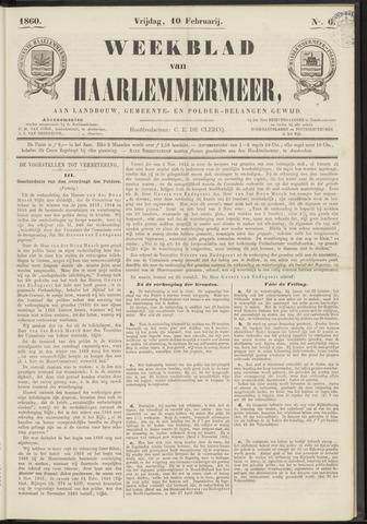 Weekblad van Haarlemmermeer 1860-02-10