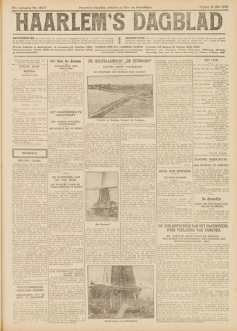 Haarlem's Dagblad 1926-05-14