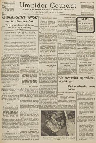 IJmuider Courant 1939-08-14
