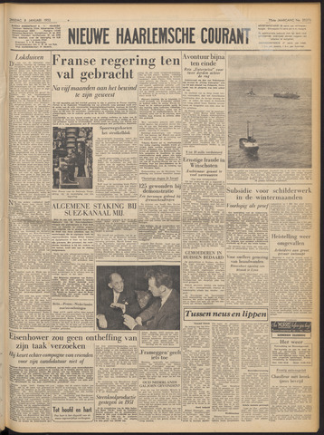 Nieuwe Haarlemsche Courant 1952-01-08
