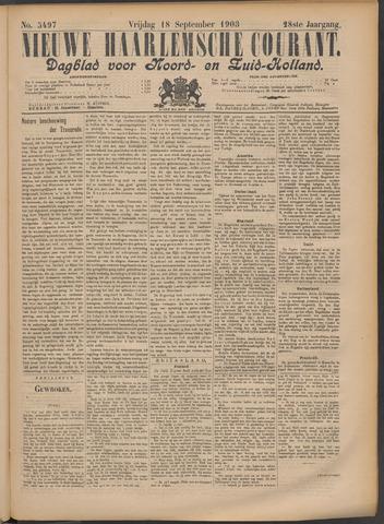 Nieuwe Haarlemsche Courant 1903-09-18