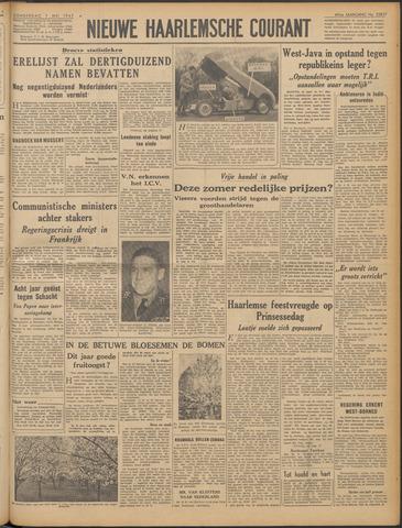 Nieuwe Haarlemsche Courant 1947-05-01