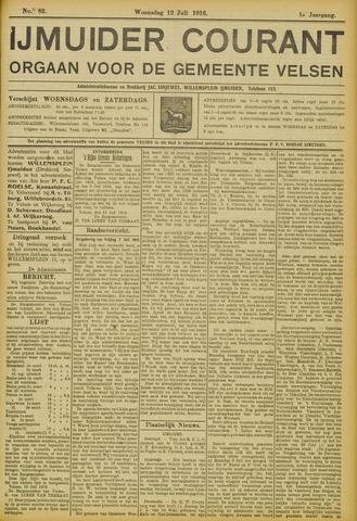 IJmuider Courant 1916-07-12