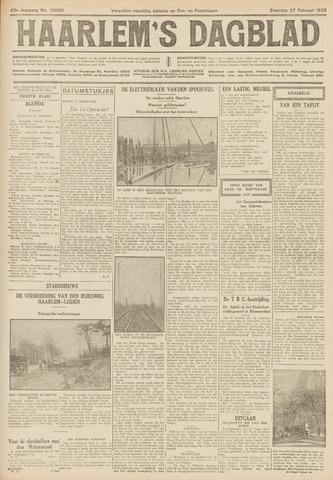 Haarlem's Dagblad 1926-02-27
