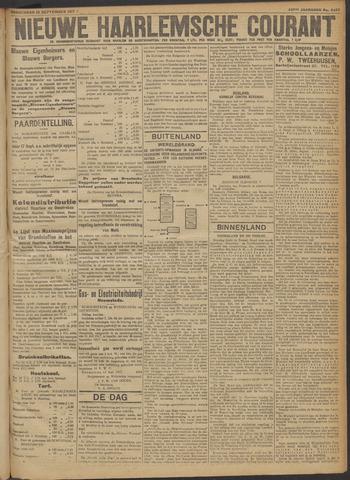 Nieuwe Haarlemsche Courant 1917-09-13