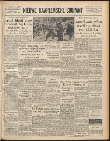 Nieuwe Haarlemsche Courant 1955-09-06