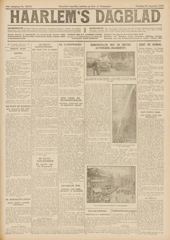 Haarlem's Dagblad 1926-08-24