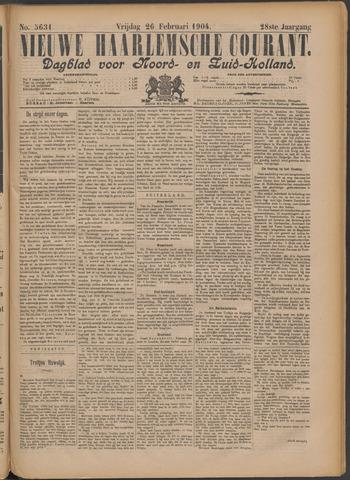 Nieuwe Haarlemsche Courant 1904-02-26
