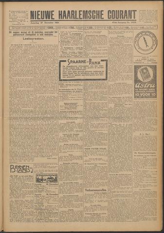 Nieuwe Haarlemsche Courant 1924-12-27