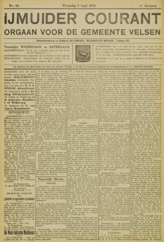 IJmuider Courant 1916-04-05