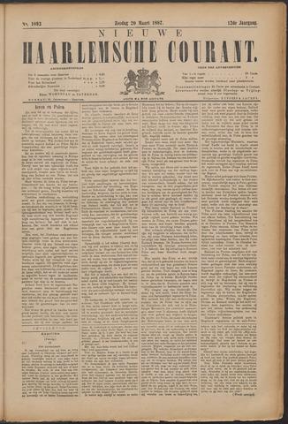 Nieuwe Haarlemsche Courant 1887-03-20