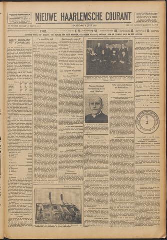Nieuwe Haarlemsche Courant 1931-07-06