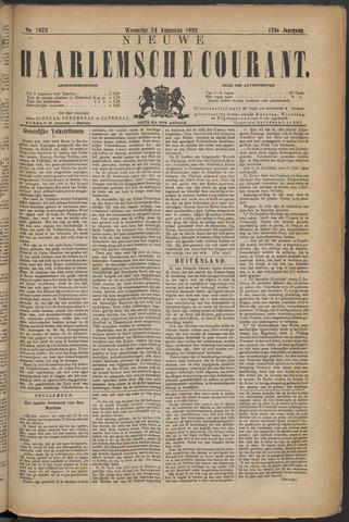 Nieuwe Haarlemsche Courant 1892-08-24