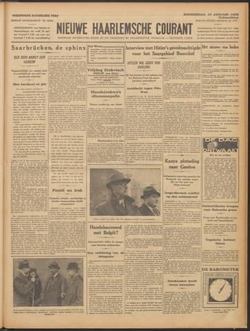Nieuwe Haarlemsche Courant 1935-01-10