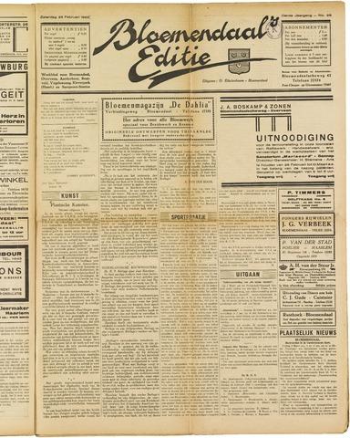 Bloemendaal's Editie 1928-02-25