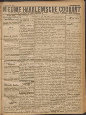 Nieuwe Haarlemsche Courant 1919-07-25