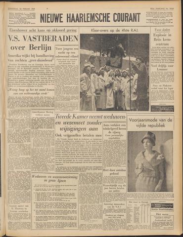 Nieuwe Haarlemsche Courant 1959-02-26