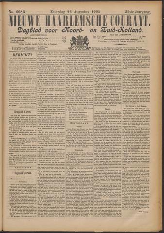 Nieuwe Haarlemsche Courant 1905-08-26