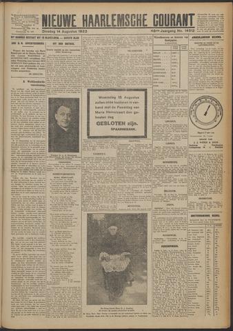 Nieuwe Haarlemsche Courant 1923-08-14