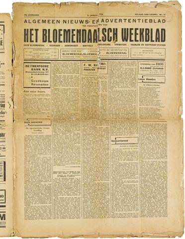 Het Bloemendaalsch Weekblad 1936