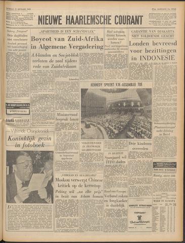 Nieuwe Haarlemsche Courant 1963-09-21