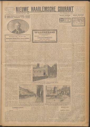 Nieuwe Haarlemsche Courant 1924-04-26