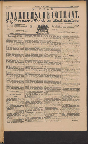 Nieuwe Haarlemsche Courant 1898-05-21