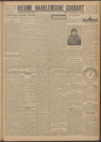 Nieuwe Haarlemsche Courant 1923-03-12