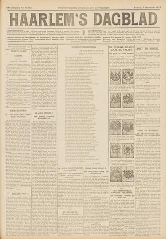 Haarlem's Dagblad 1926-12-07