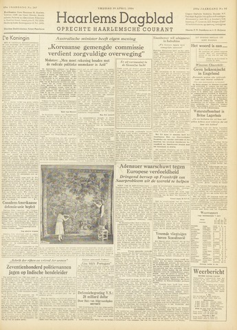 Haarlem's Dagblad 1954-04-30