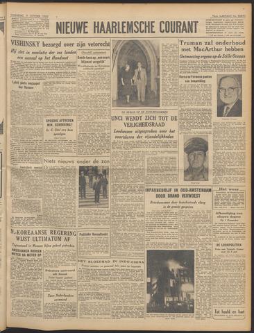 Nieuwe Haarlemsche Courant 1950-10-11