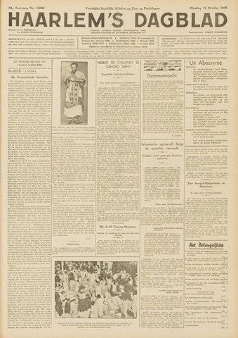 Haarlem's Dagblad 1935-10-15