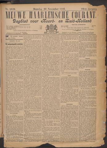 Nieuwe Haarlemsche Courant 1897-11-22