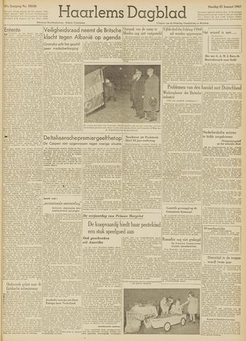 Haarlem's Dagblad 1947-01-21