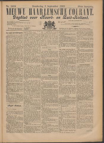 Nieuwe Haarlemsche Courant 1903-09-03