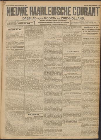 Nieuwe Haarlemsche Courant 1914-11-19
