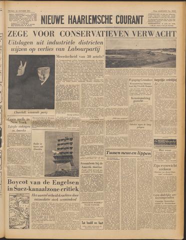 Nieuwe Haarlemsche Courant 1951-10-26