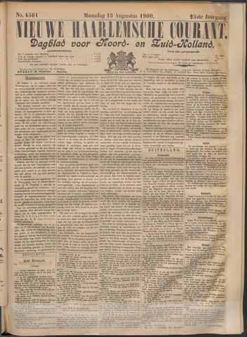 Nieuwe Haarlemsche Courant 1900-08-13