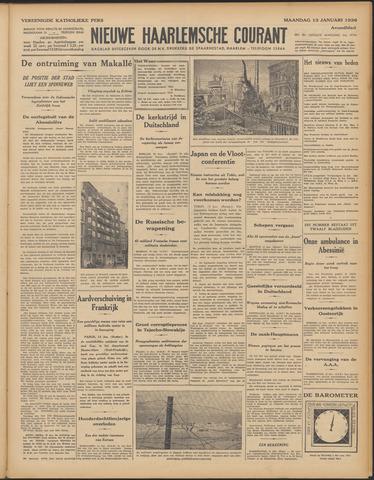 Nieuwe Haarlemsche Courant 1936-01-13
