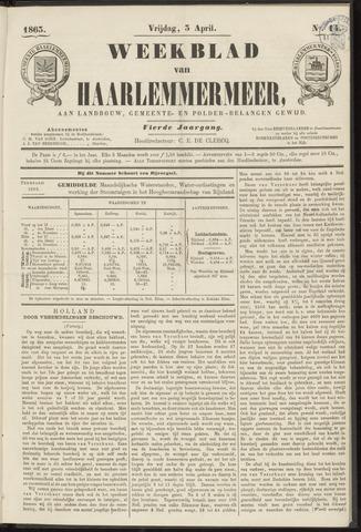 Weekblad van Haarlemmermeer 1863-04-03