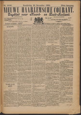 Nieuwe Haarlemsche Courant 1905-12-28