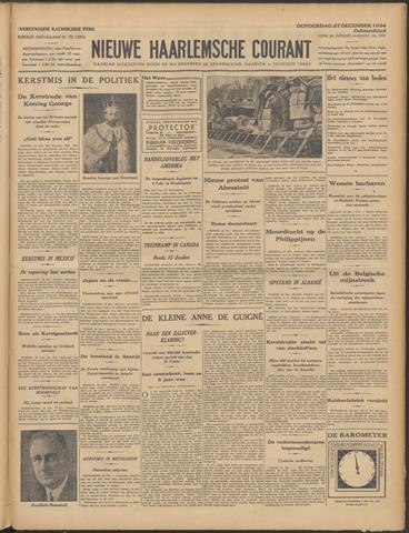 Nieuwe Haarlemsche Courant 1934-12-27