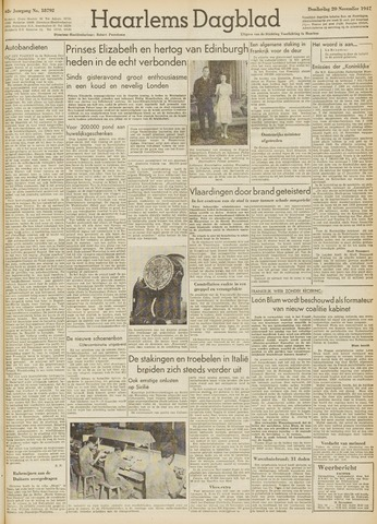 Haarlem's Dagblad 1947-11-20
