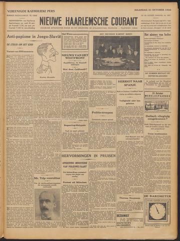 Nieuwe Haarlemsche Courant 1932-10-31
