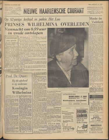 Nieuwe Haarlemsche Courant 1962-11-28